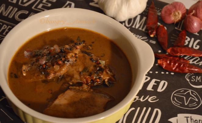 Varutharacha Fish Curry